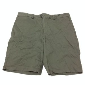 Banana Republic Men's Aiden Shorts Olive Green 35